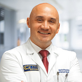 internal medicine physician mario pereira, md