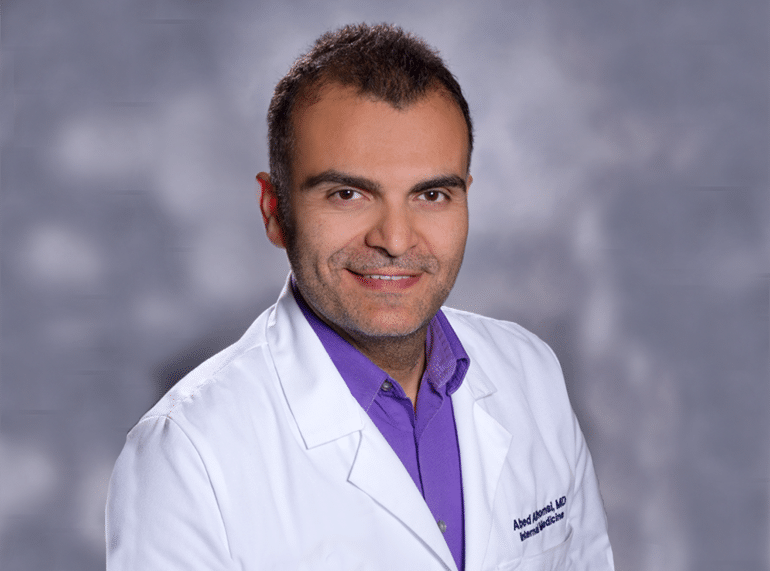 Abed Alhomsi MD internal medicine doctor