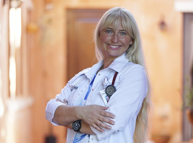 Internal medicine doctor Tatyana Borisiak MD