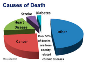 obesity cause of dead