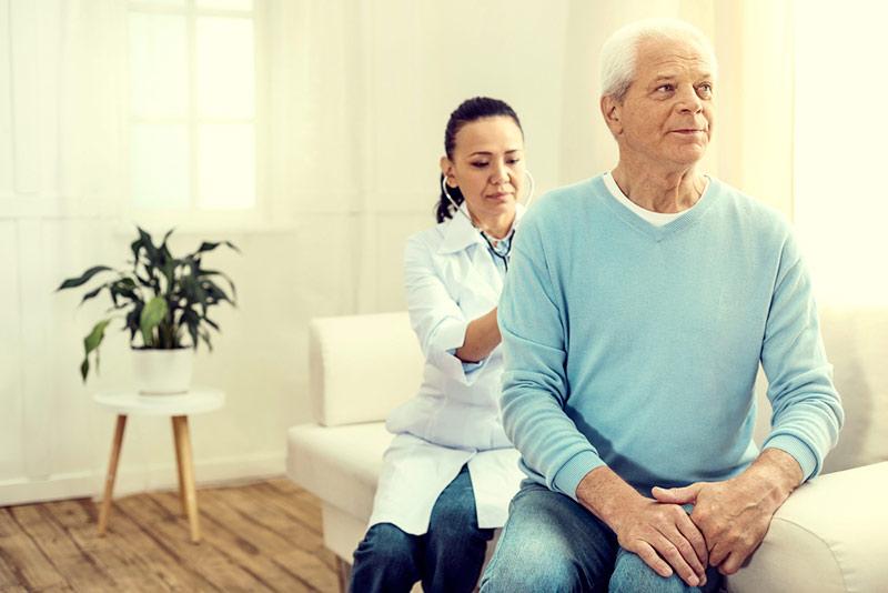 patient with internal medicine doctor